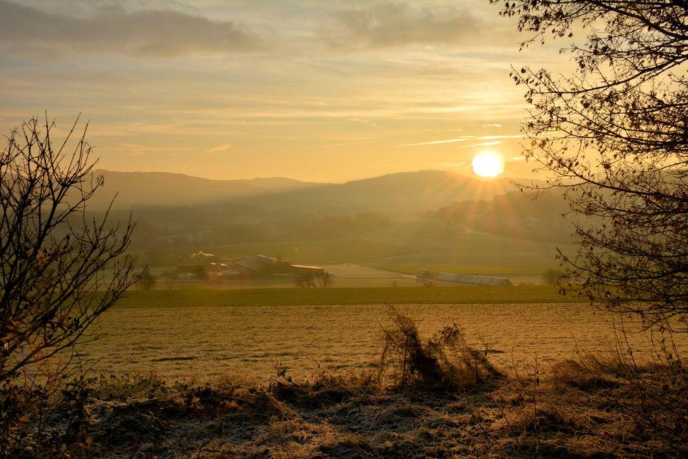 Sonnenaufgang Farrod