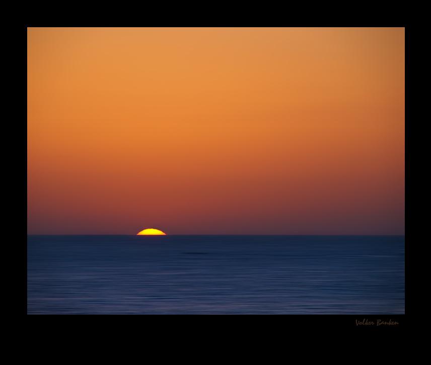 Sonnenaufgang - ganz einfach