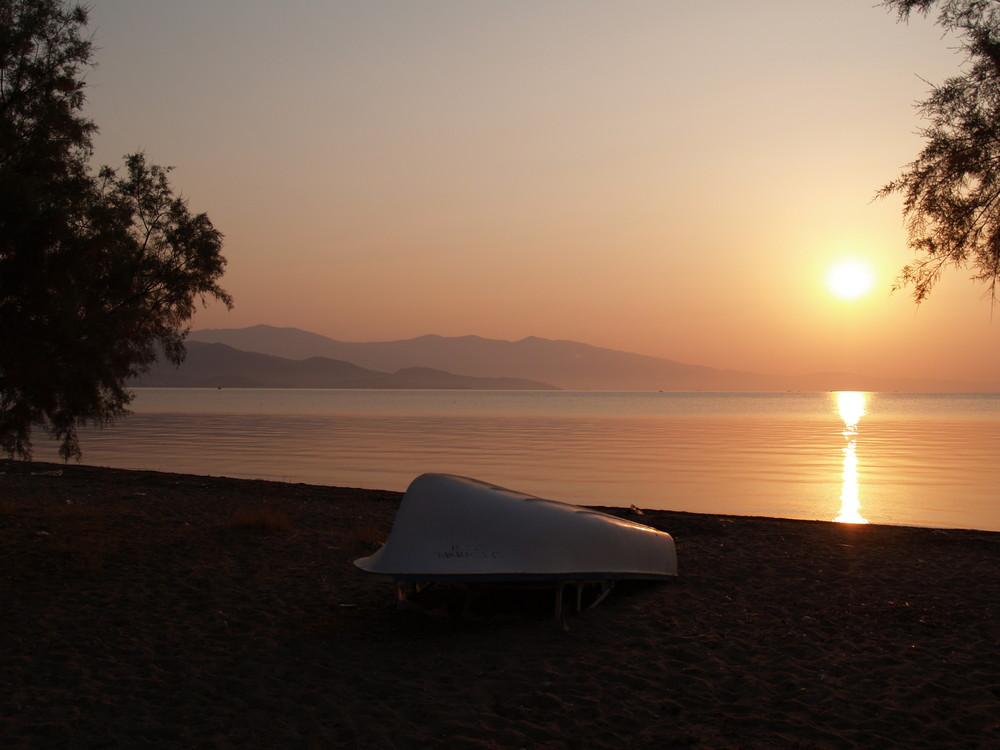 Sonnenaufgang; Golf von Volos