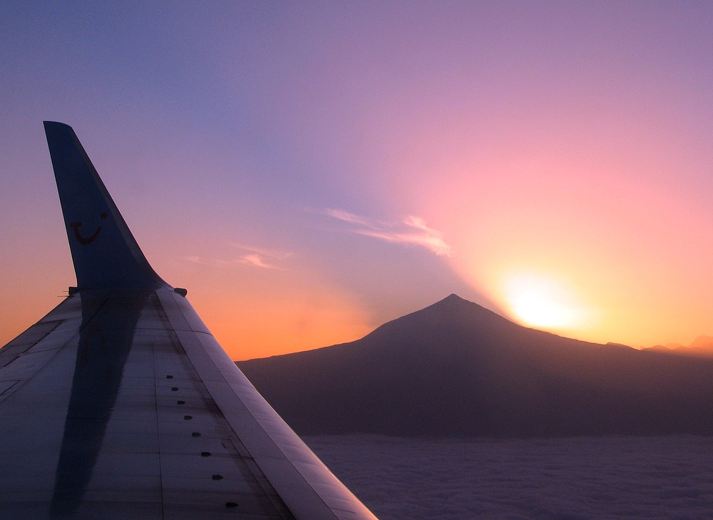 Sonnenaufgang hinterm Teide