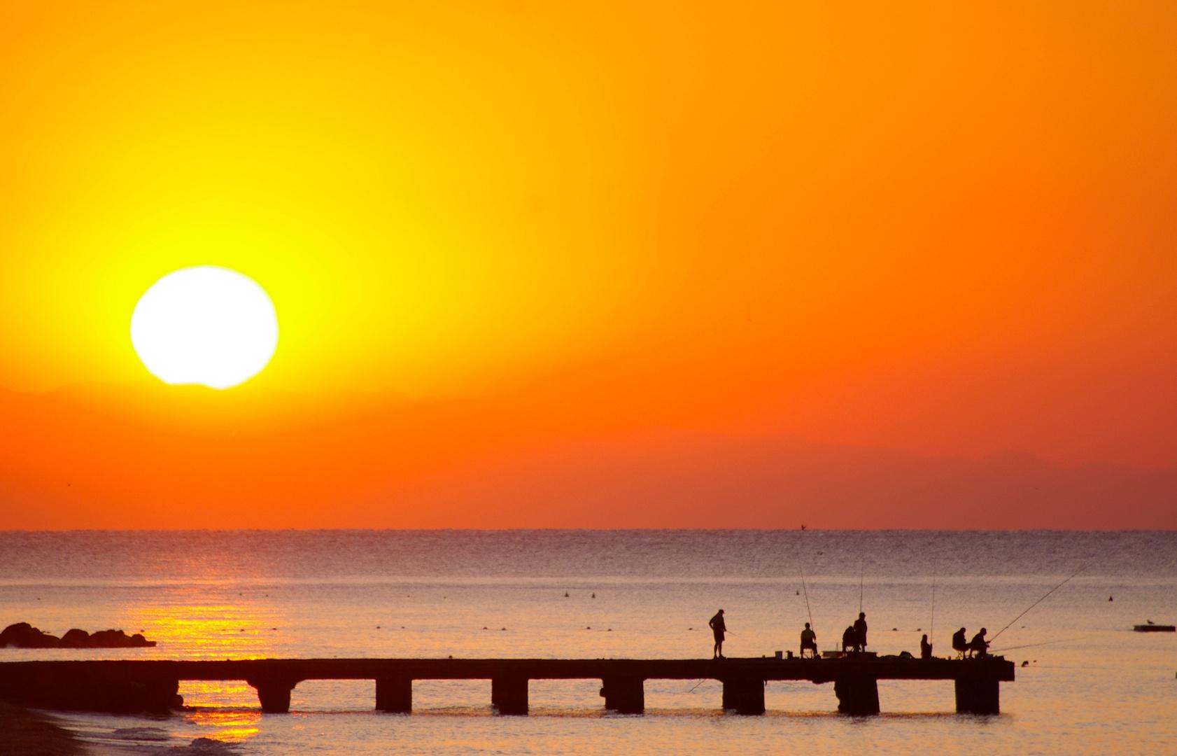 Sonnenaufgang ICH WILL DEN SOMMER WIEDER HABEN!!!