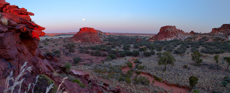 Sonnenaufgang im Australischen Outback