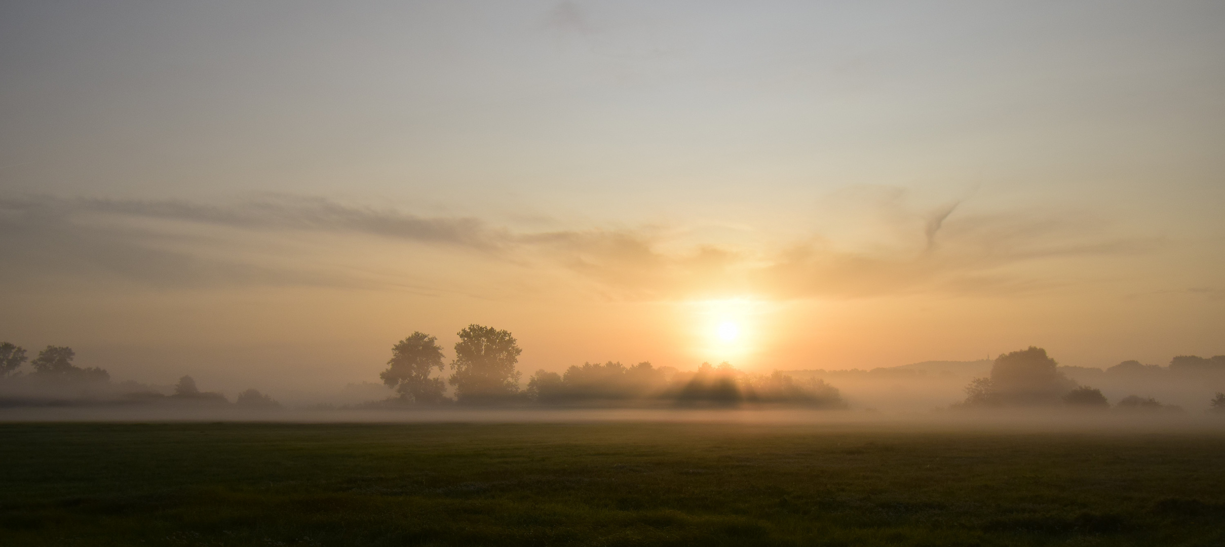 Sonnenaufgang im Badner Land II