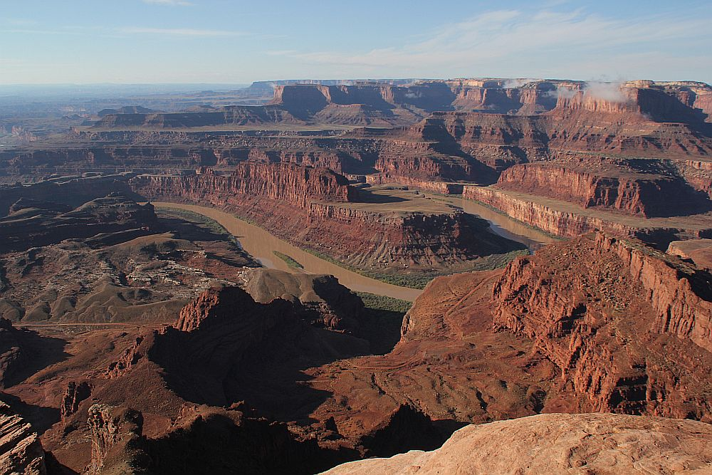 Sonnenaufgang im Dead Horse Point State Park