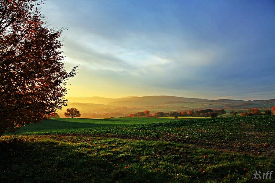 Sonnenaufgang Hessen