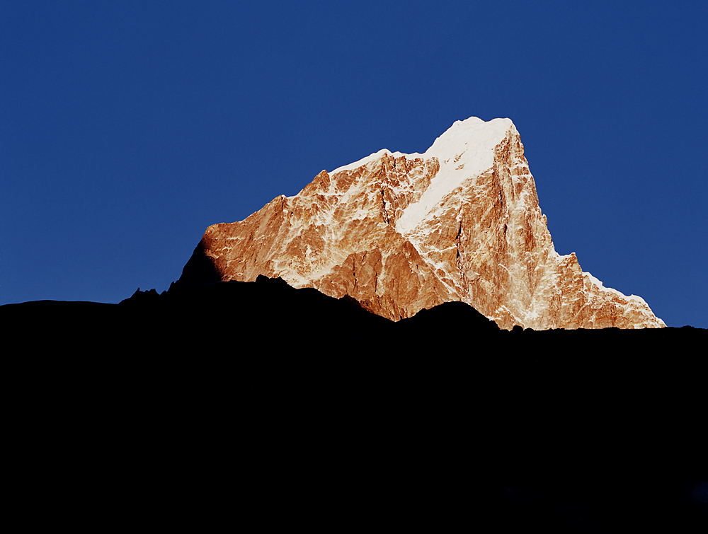 Sonnenaufgang im Khumbu
