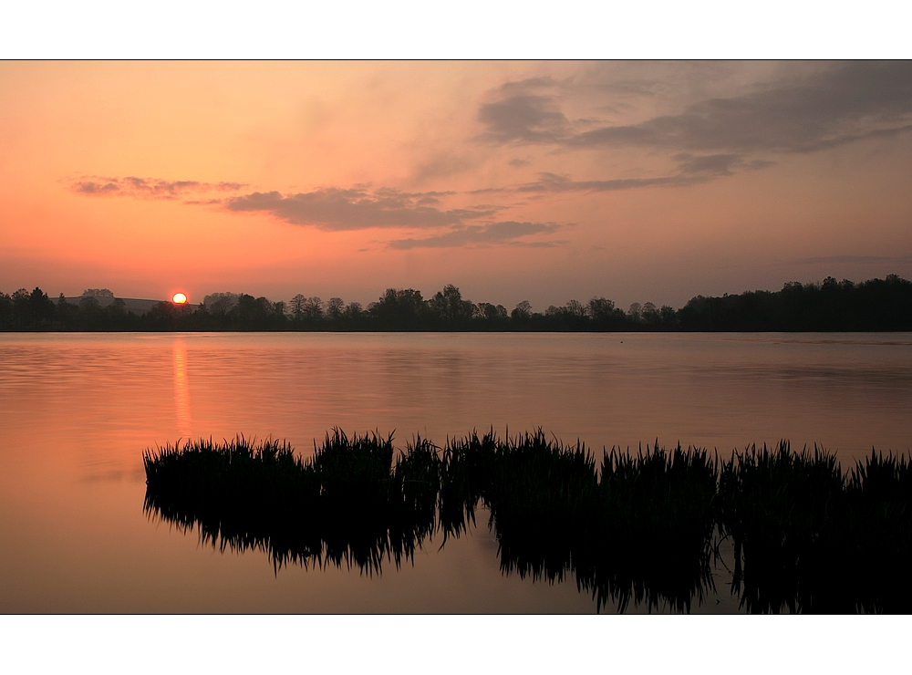 Sonnenaufgang im Mai