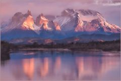 Sonnenaufgang im NP Torres del Paine