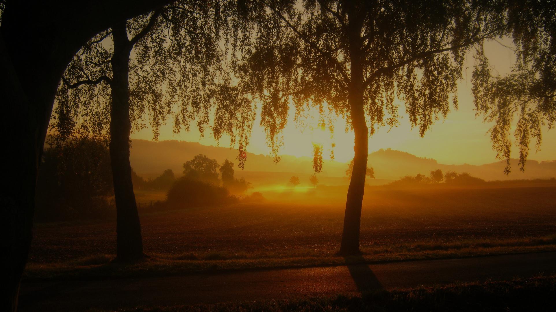 Sonnenaufgang im September (2)