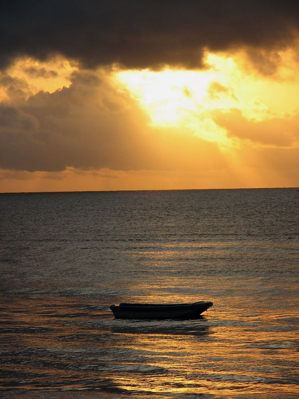 Sonnenaufgang in Afrika...