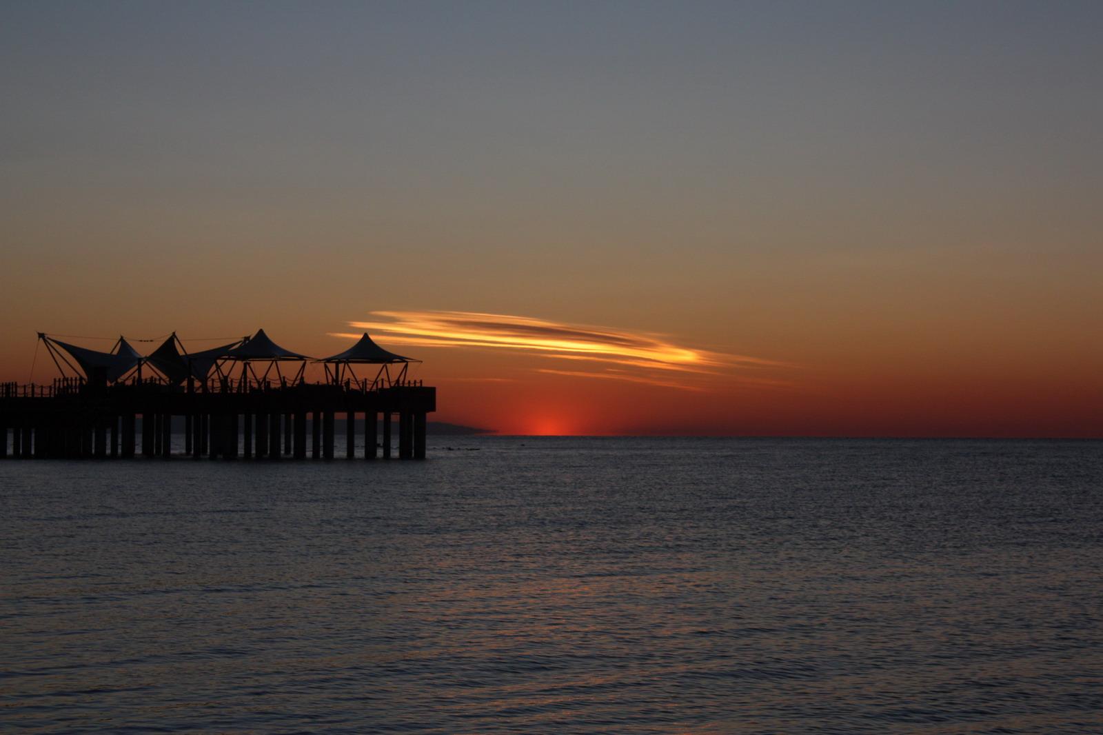 Sonnenaufgang in Antalya