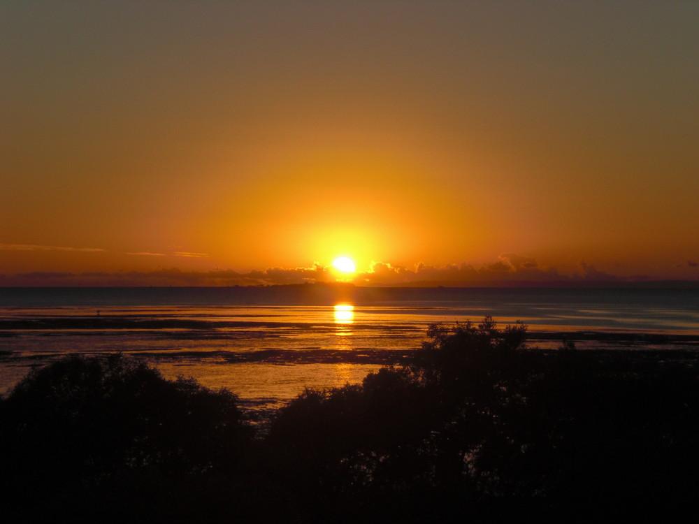 Sonnenaufgang in Australien