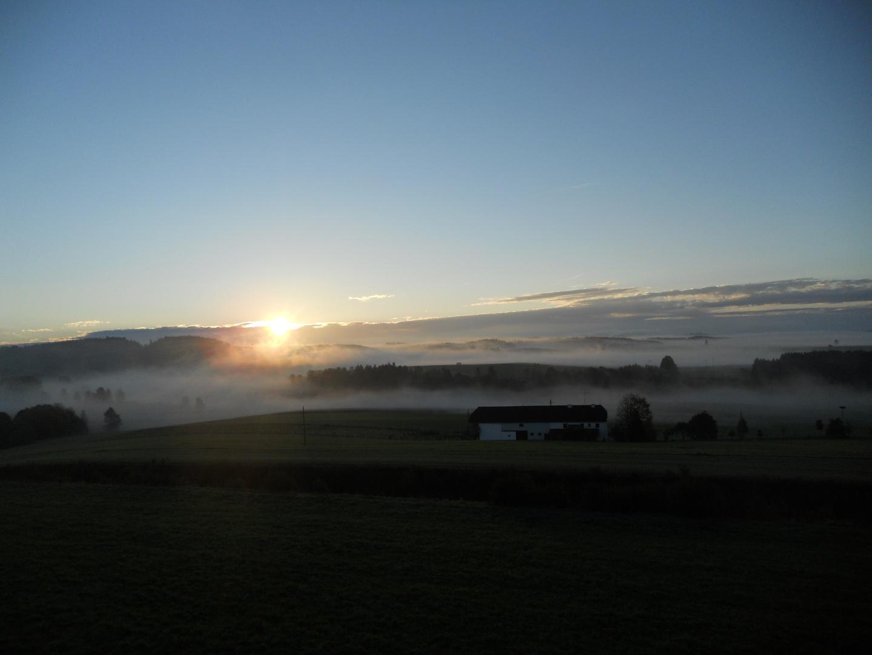 Sonnenaufgang in Bad Leonfelden