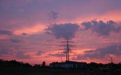 Sonnenaufgang in Bad Vilbel