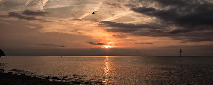 Sonnenaufgang in Borgio Verezzi.