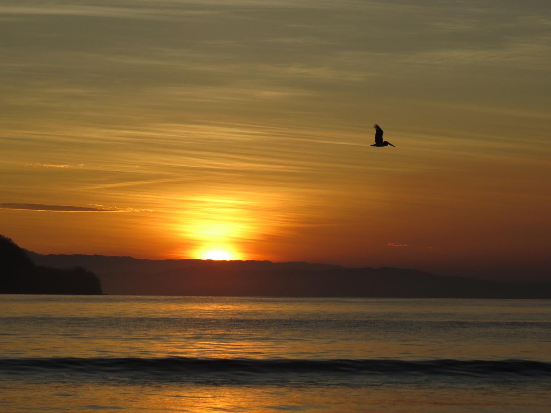 Sonnenaufgang in Costa Rica.