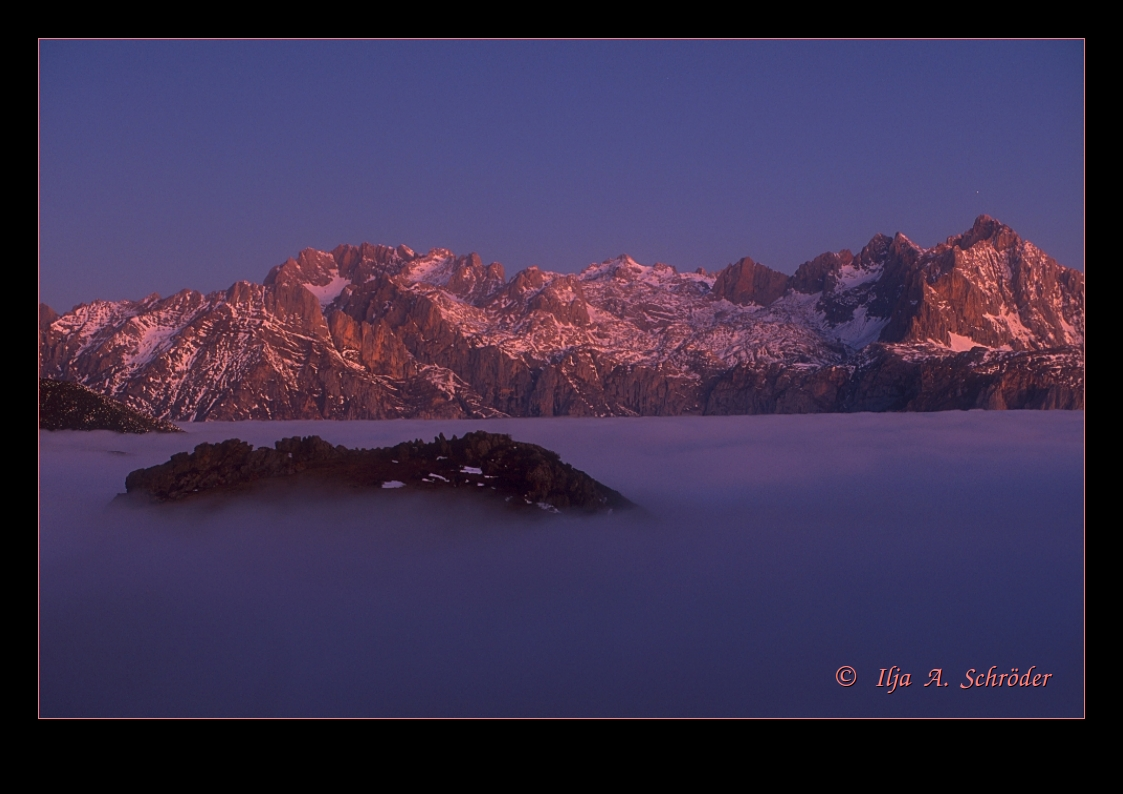 Sonnenaufgang in den Picos de Europa