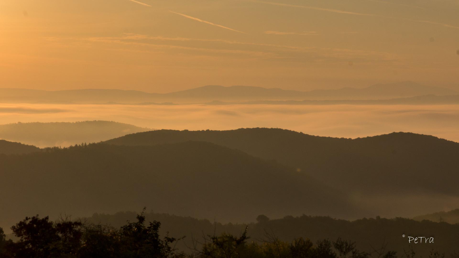 Sonnenaufgang in der Chianti