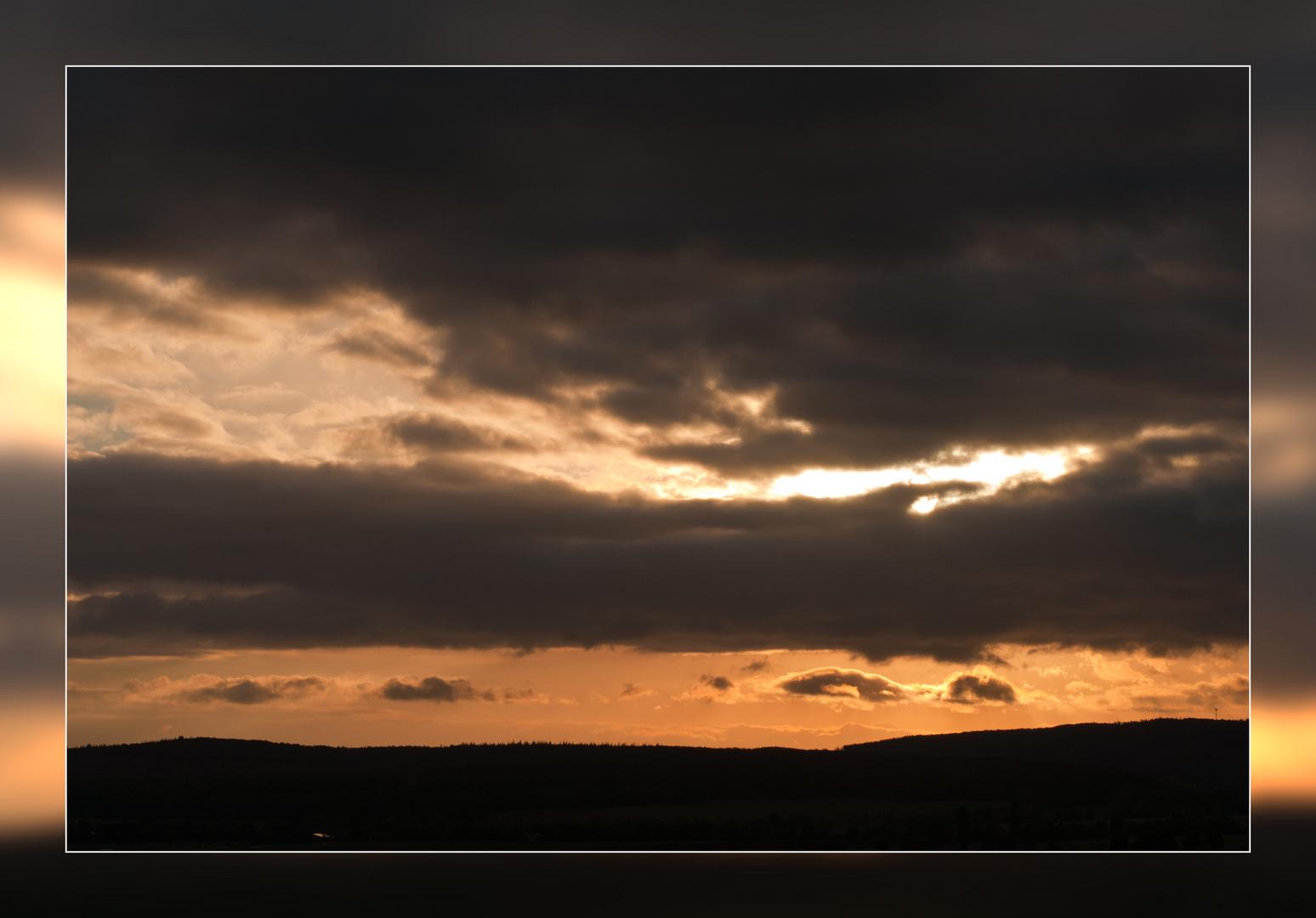 Sonnenaufgang in der Eifel
