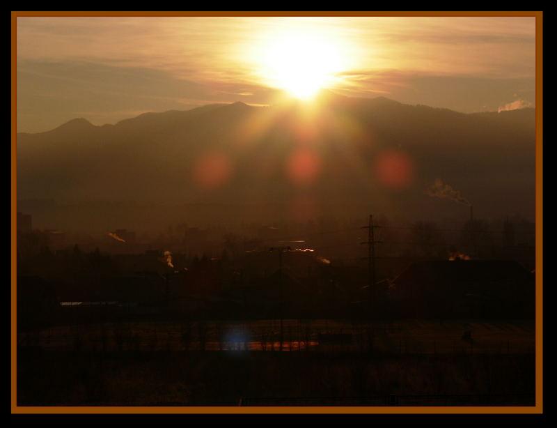 Sonnenaufgang in der Fatra