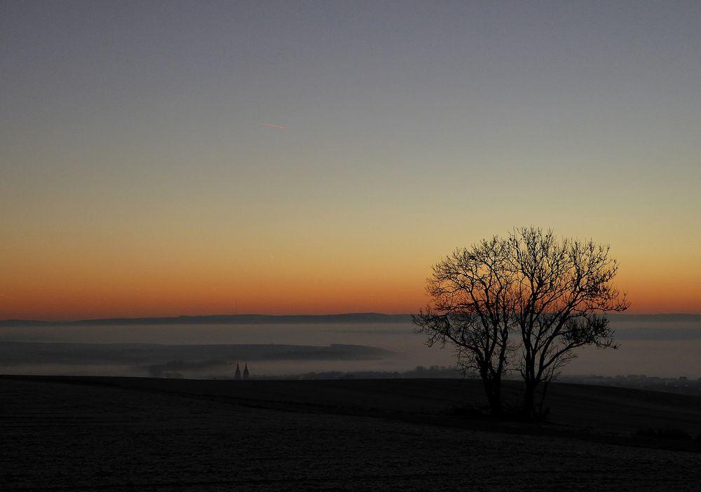 Sonnenaufgang in der Vordereifel