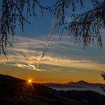 Sonnenaufgang in Diex