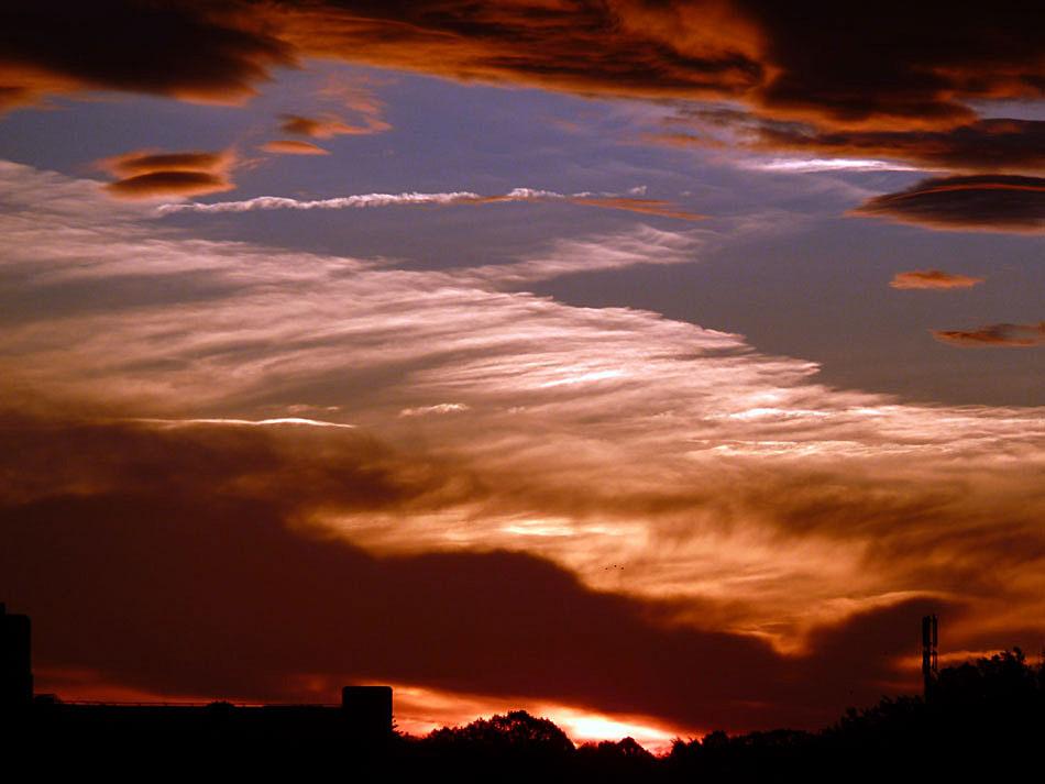 Sonnenaufgang in Dortmund II