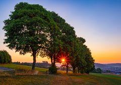 Sonnenaufgang in Erndtebrück