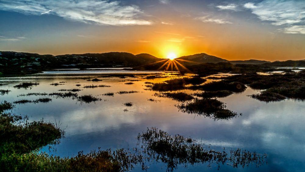 Sonnenaufgang in Hörnum