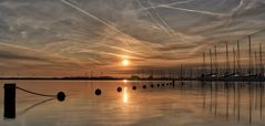 Sonnenaufgang in Holland