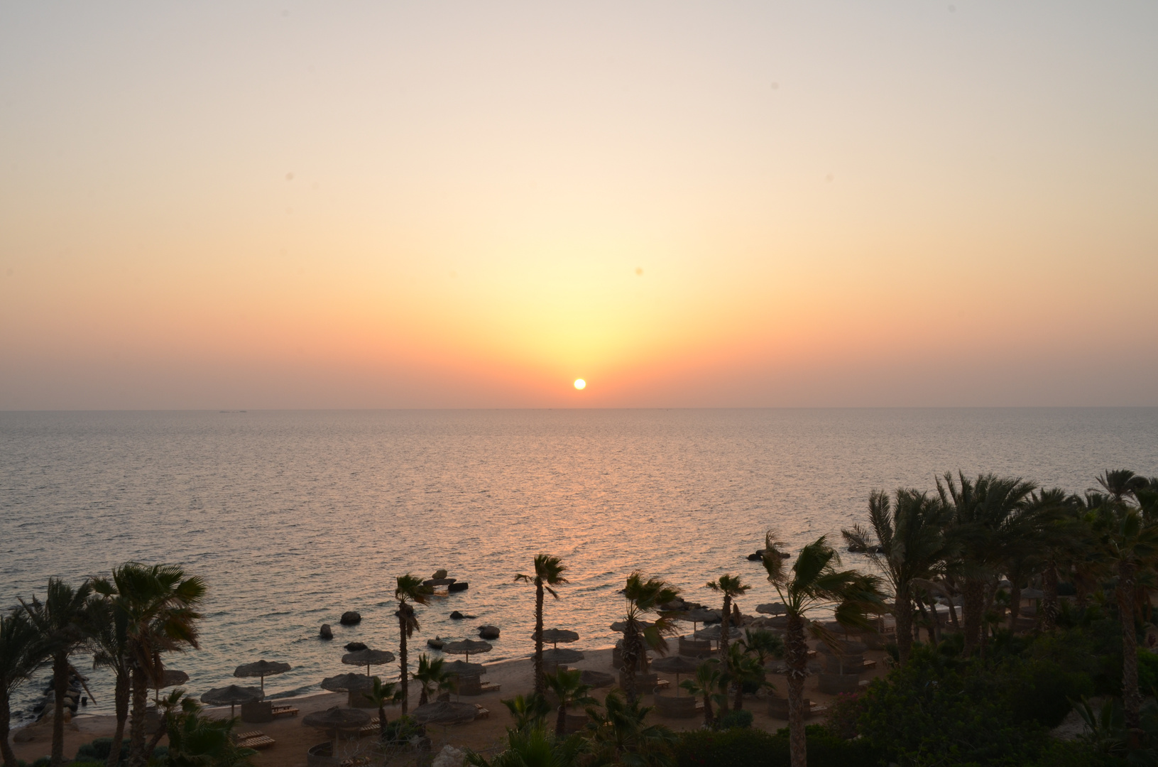 Sonnenaufgang in Hurghada