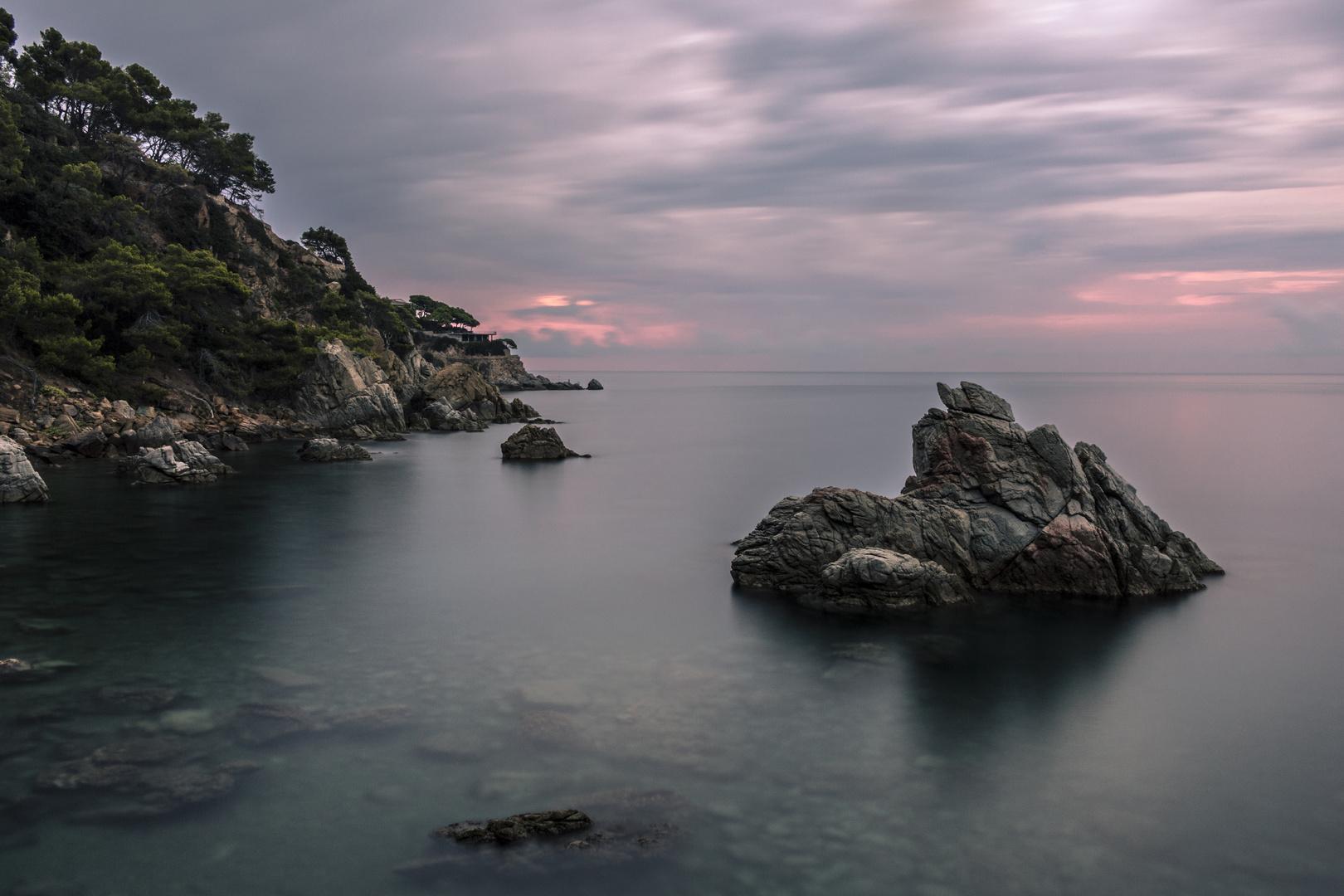 Sonnenaufgang in Lloret de Mar