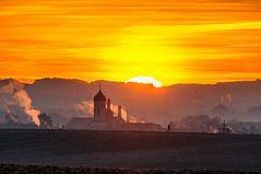 Sonnenaufgang in Maisach