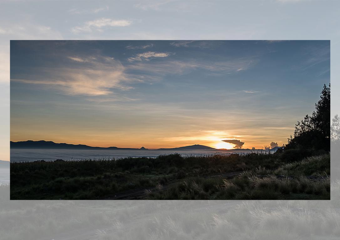 Sonnenaufgang in MX