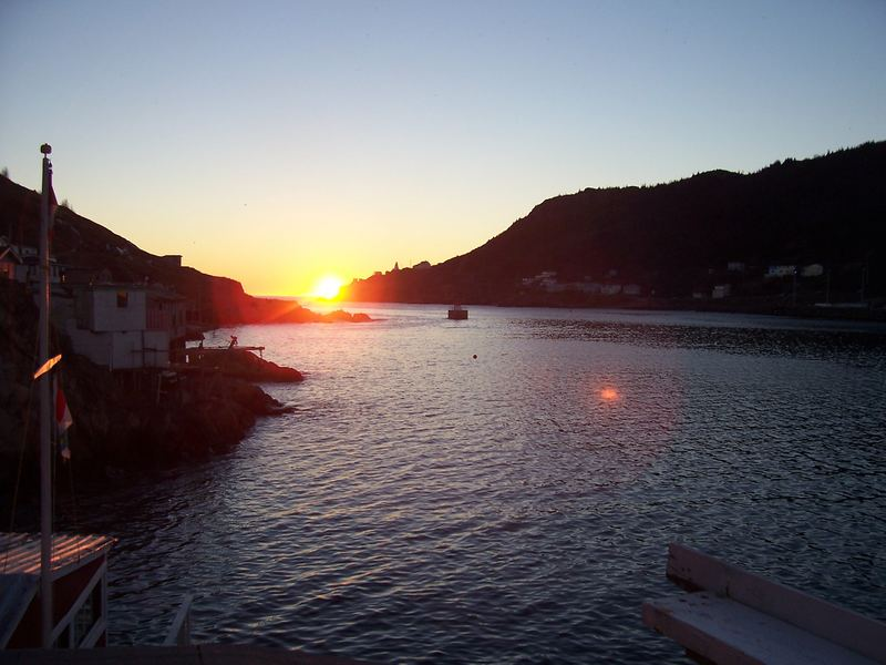 Sonnenaufgang in Neufundland
