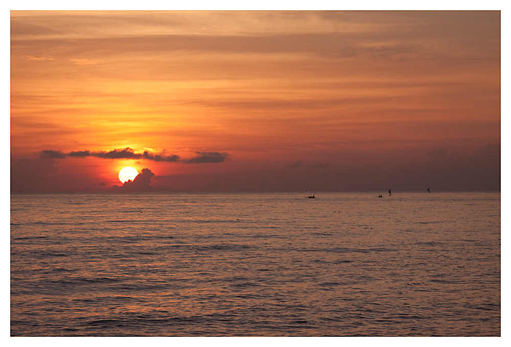 Sonnenaufgang in Nordbali