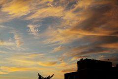 Sonnenaufgang in Norderstedt