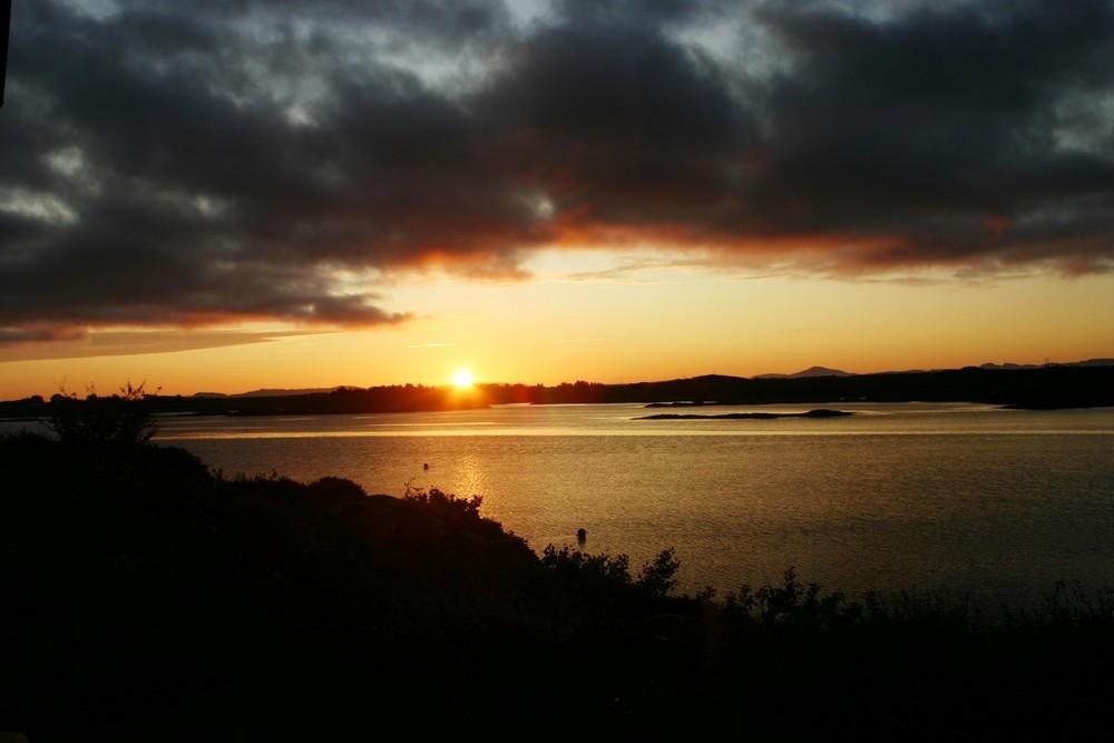 Sonnenaufgang in Norwegen/ Smöla