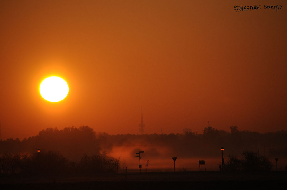Sonnenaufgang in Olching