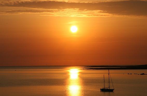 Sonnenaufgang in Porto Rotondo