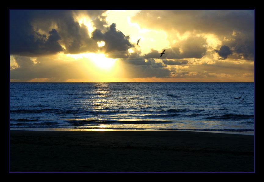 Sonnenaufgang in San Augustin