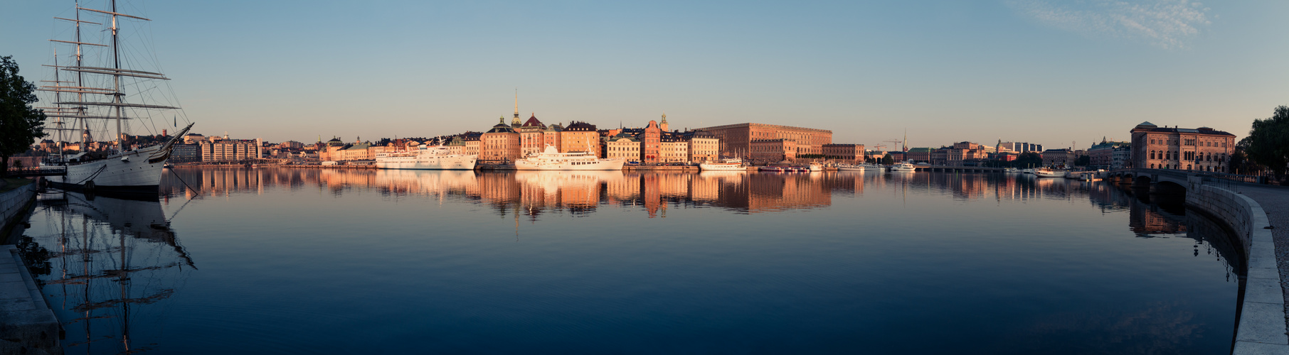Sonnenaufgang in Stockholm