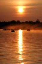 Sonnenaufgang in Stralsund