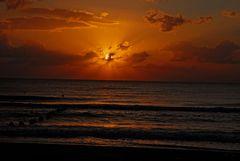 Sonnenaufgang in Tunesien