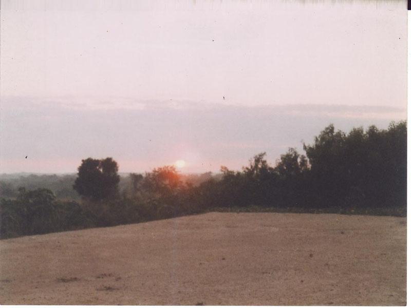 Sonnenaufgang in Turiguanó