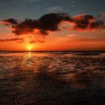 Sonnenaufgang in Utersum auf Föhr