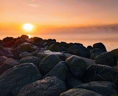 Sonnenaufgang in Wassersleben