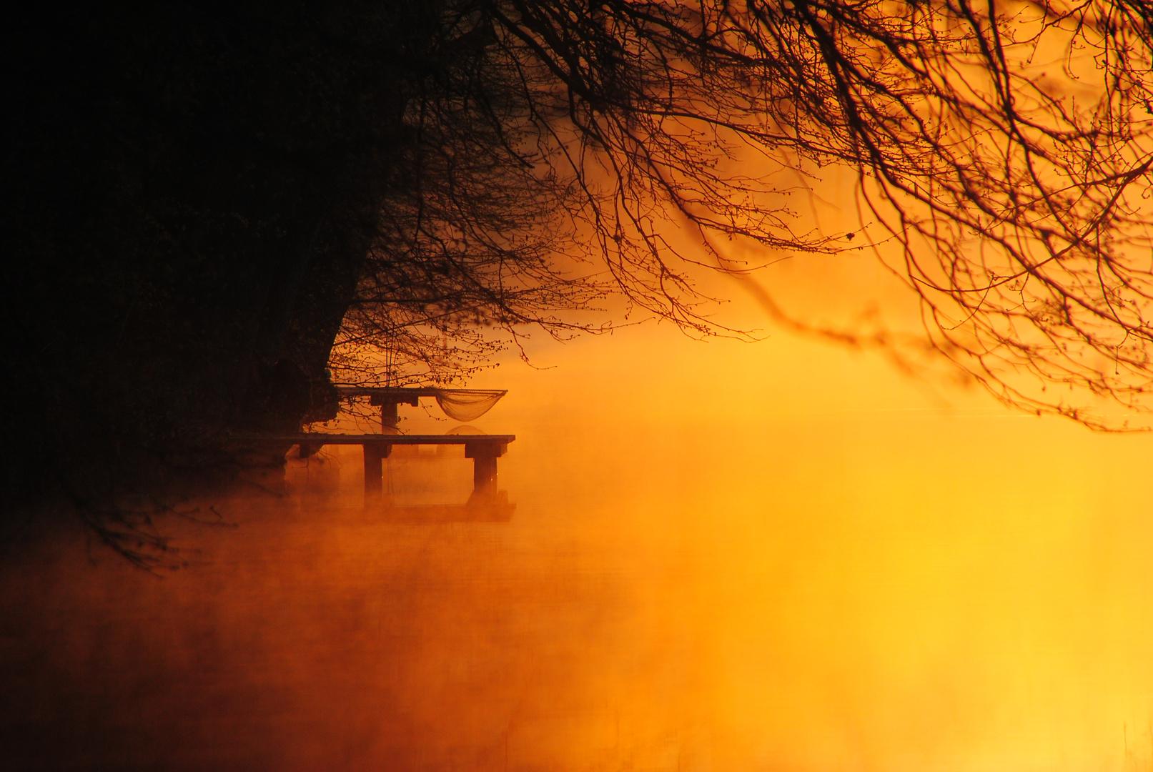 Sonnenaufgang, Junckernhees