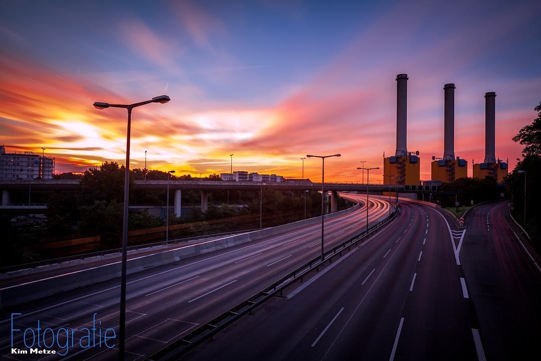 Sonnenaufgang | Kraftwerk Wilmersdorf | 2013