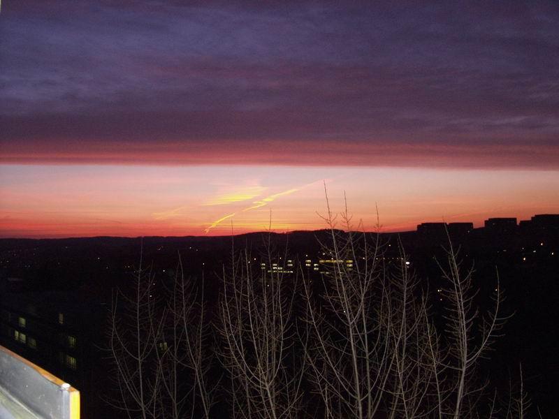 Sonnenaufgang - leider nicht heute